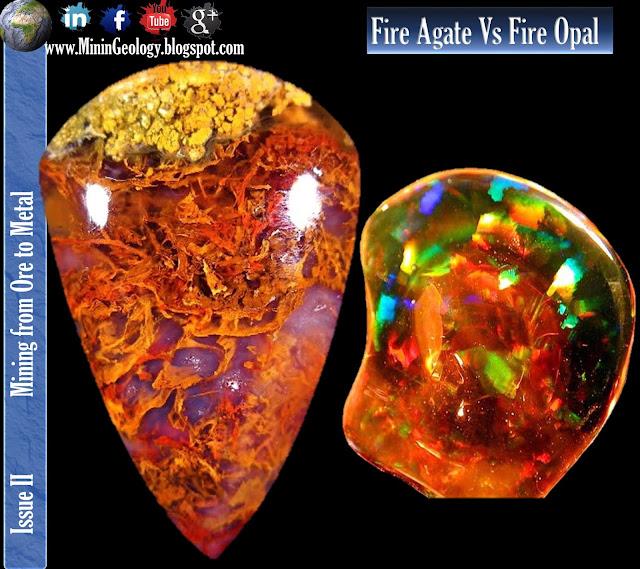 Fire Agate Vs Fire Opal