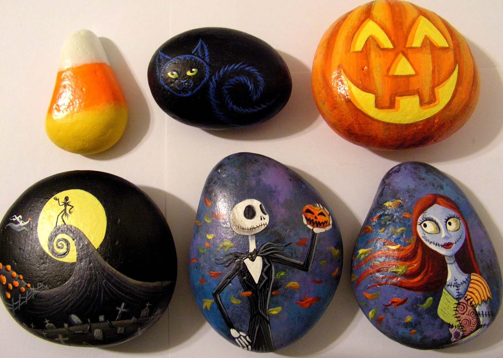 Halloween Rock Painting Design Ideas Easy Arts And