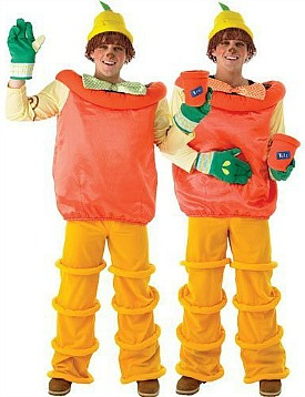 Bill and Ben Fancy Dress Costume