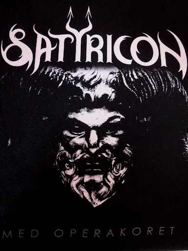 Satyricon (med Operakoret) @ Den Norske Opera & Ballett Hovedscenen, Oslo, Norvège 08/09/2013