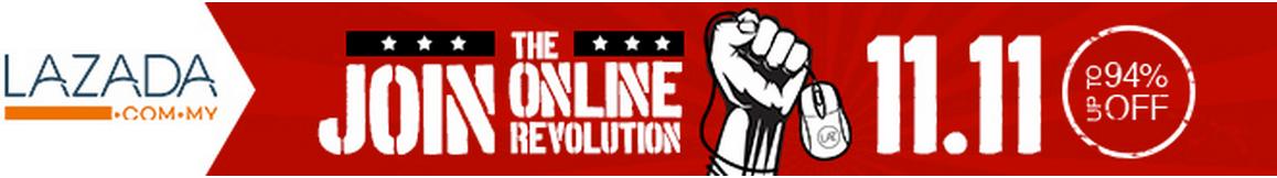 Lazada Diskaun 94%, shopping online