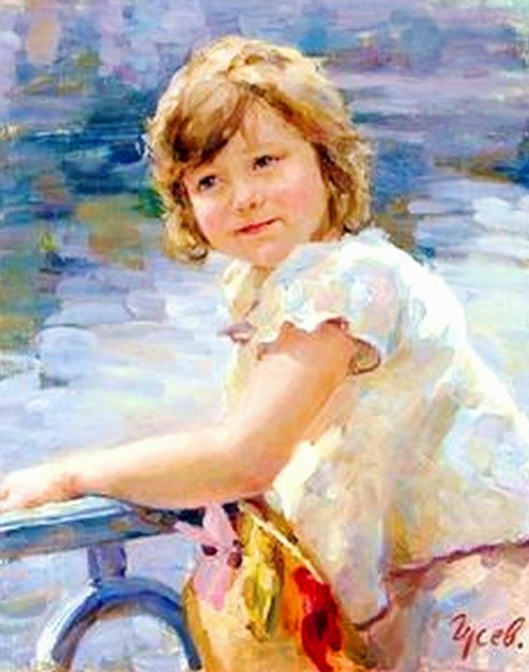 niñas-en-retratos-impresionistas-oleo