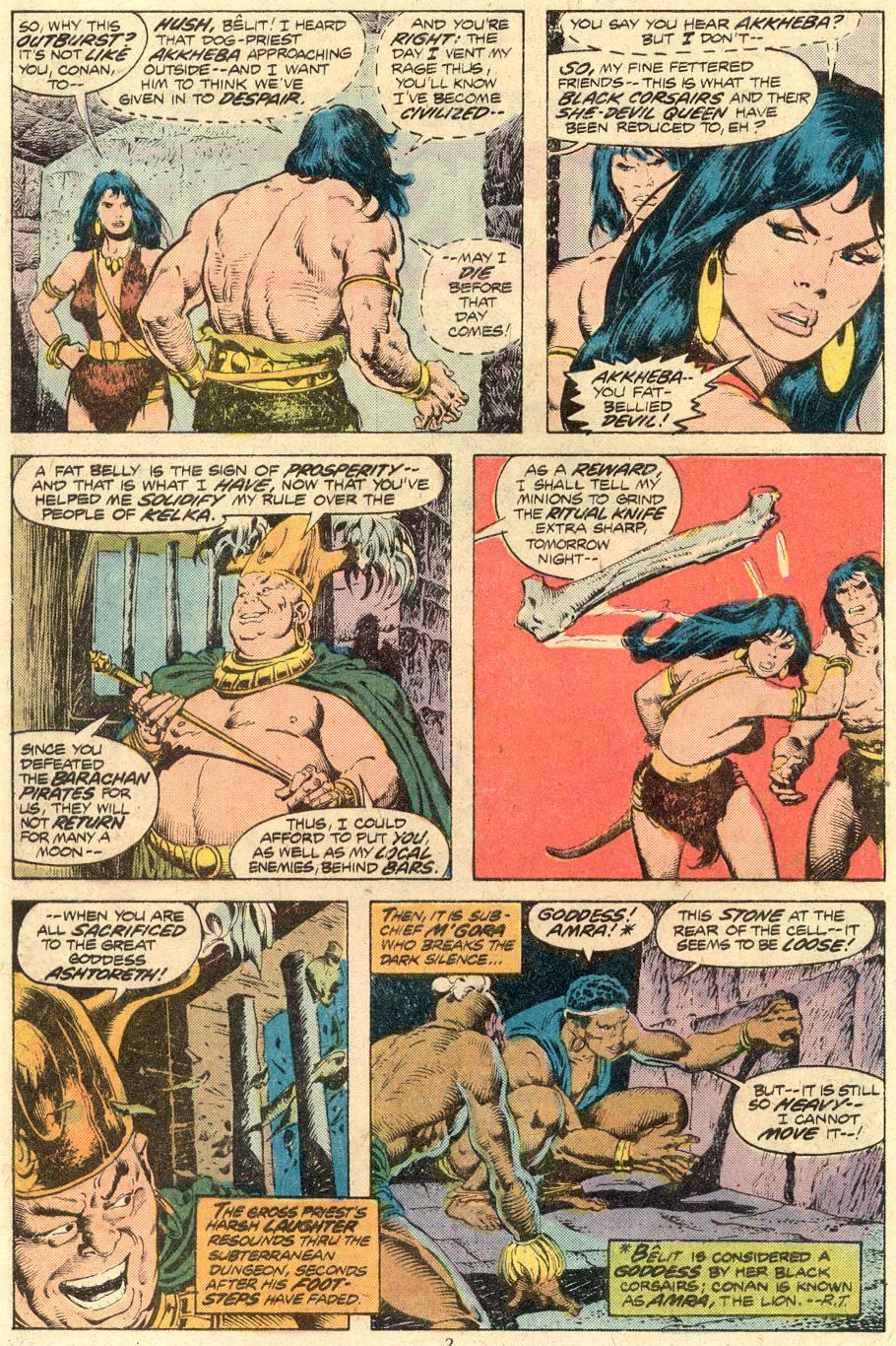 Conan the Barbarian (1970) Issue #71 #83 - English 3