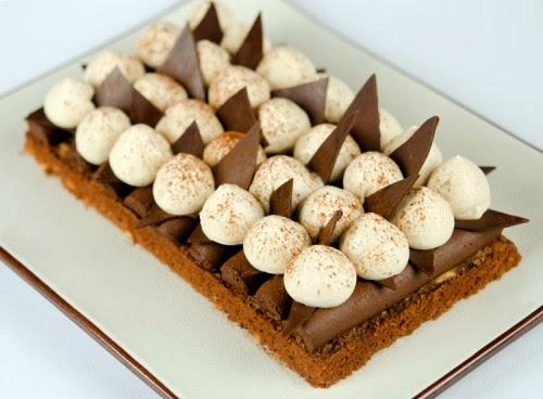 Gâteau craquant au chocolat