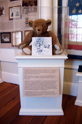 Teddy Bear at Bulloch Hall