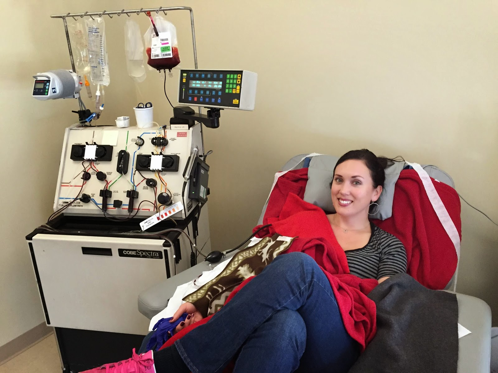 A grateful heart: Donating granulocytes, gaining compassion