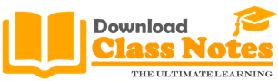 Download Class Notes