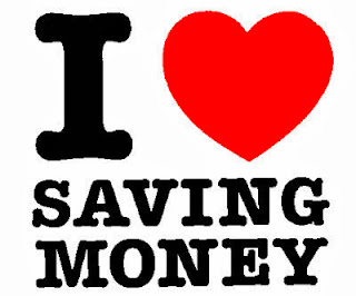 I love Saving Money graphic