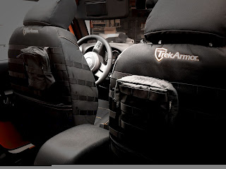 Trek Armor Seat Covers Trek Armor 2013 Jeep Wrangler JKU