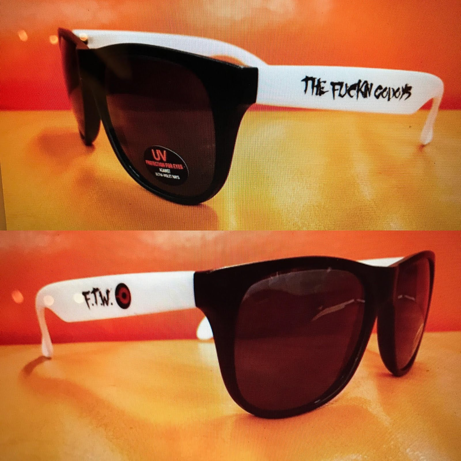 The Fuckin Godoys - FTW sunglasses.