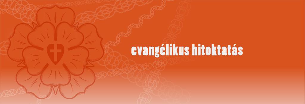 Evangélikus Hitoktatás