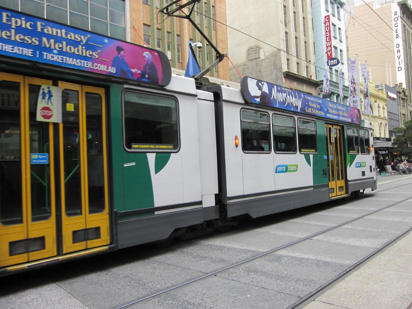 Blog For Marcel Melbourne Trams