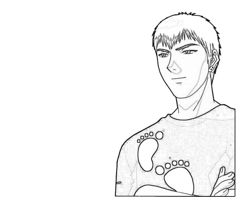 onizuka-cute-coloring-pages