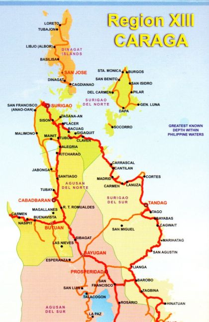 caraga region Caraga region is in the mindanao island group in the philippines caraga region, mindanao from mapcarta, the interactive map.