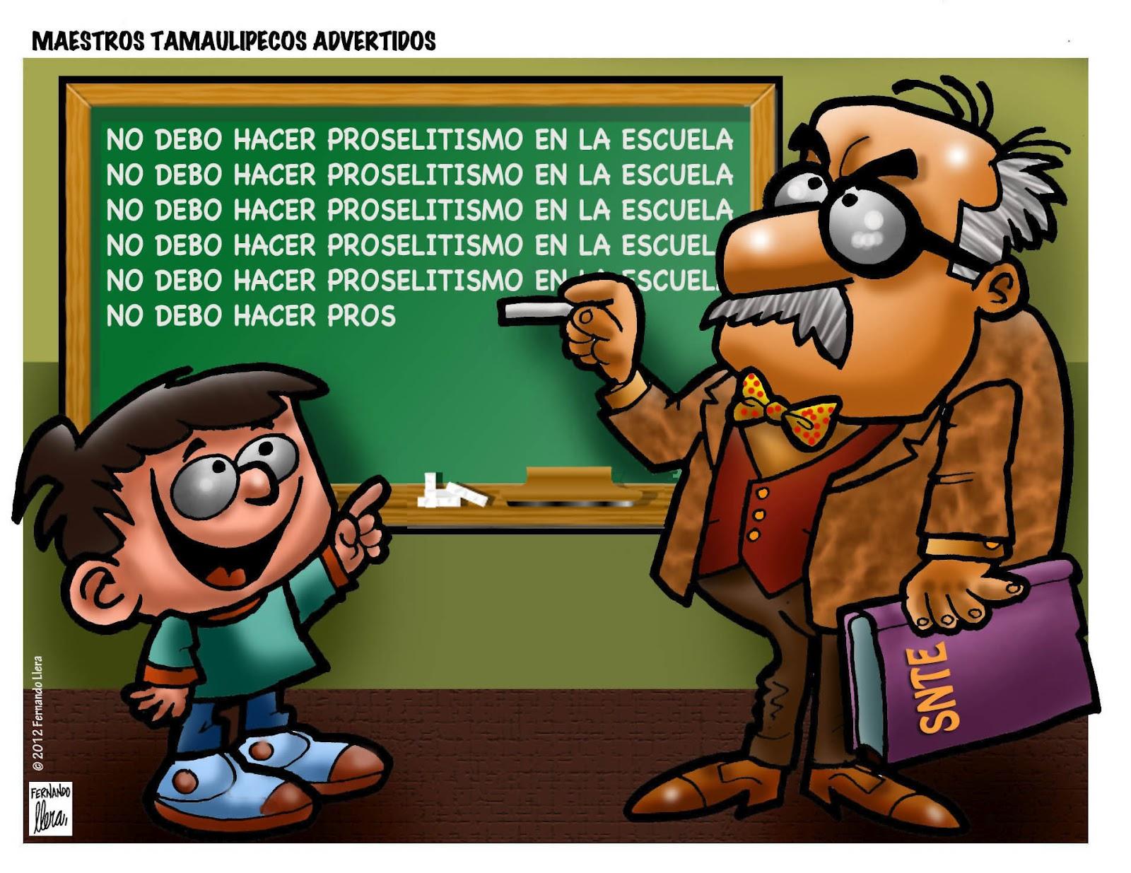 fernando llera blog cartoons tamaulipas teachers are