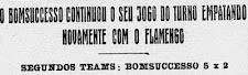 Placar Histórico: 21/07/1929.