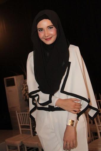 trend model gaya hijab ala zaskia sungkar terbaru 2015/2016