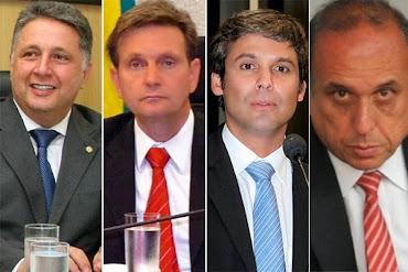 RESPONDA A ENQUETE: EM QUEM VOCÊ VOTARÁ PARA GOVERNADOR DO RIO DE JANEIRO?