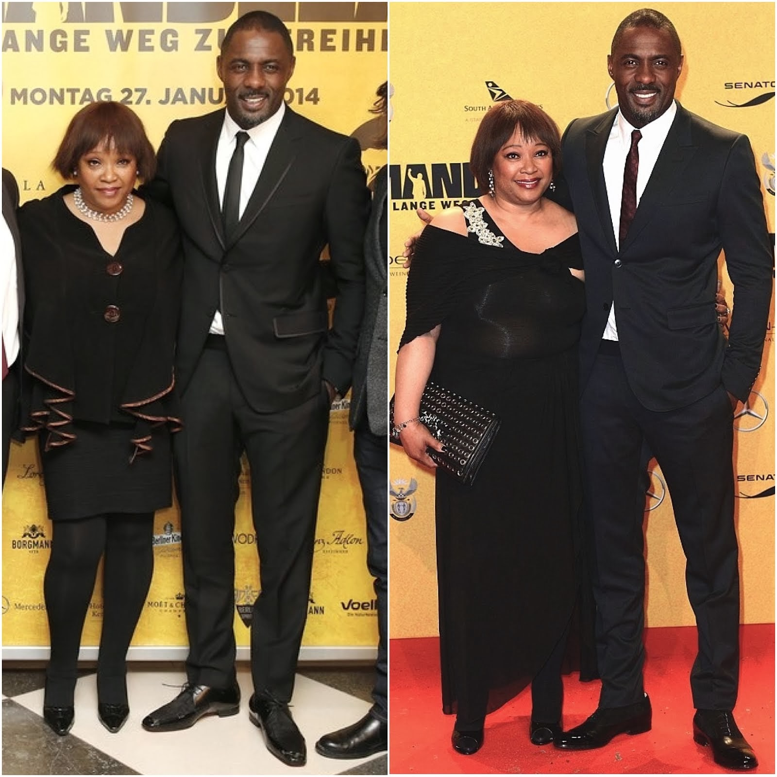 Idris Elba in Mr. Hare - 'Mandela: Long Walk to Freedom' Germany Promotions