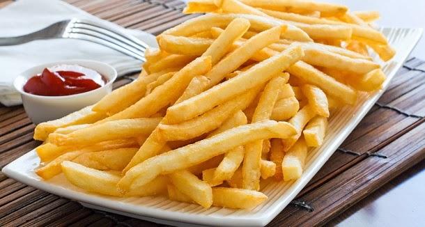 4 razões para deixar de comer batatas fritas