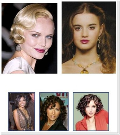 pin curls hairstyle. how to pin up curls. How