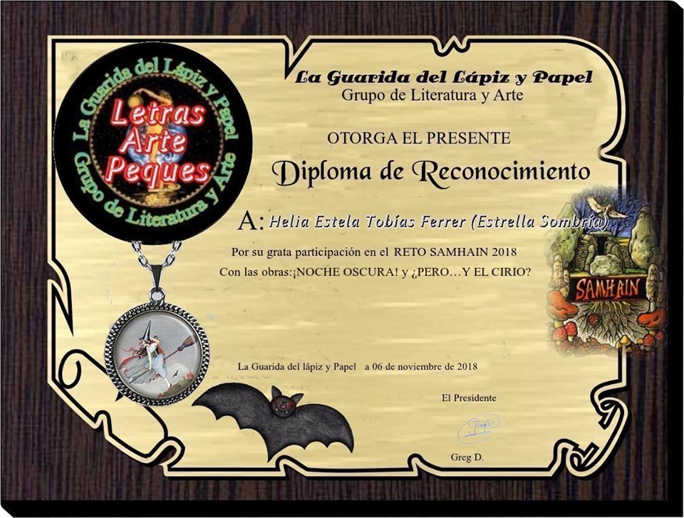 RECONOCIMIENTO DEL GRUPO GUARIDA DE LAPIZ Y PAPEL