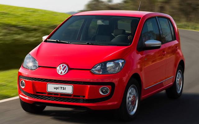 Volkswagen up! TSI Turbo 2016
