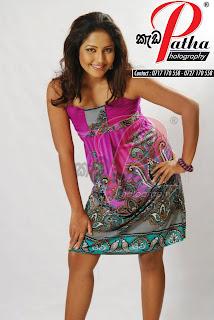 Lochana Imashi short dress