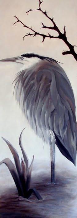 Olieverf schilderij.