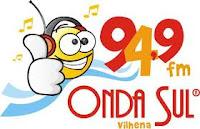 ouvir a Rádio Onda Sul FM 94,9 Vilhena RO