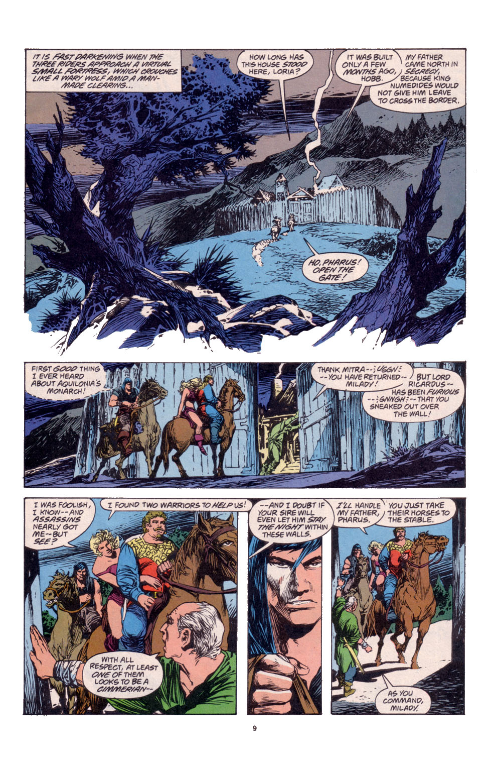 Conan the Barbarian (1970) Issue #261 #273 - English 8