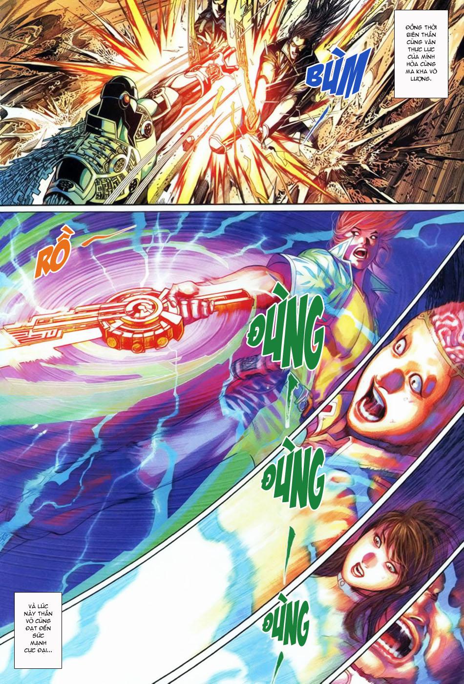 Phong Vân Tân Tác Thần Võ Ký Chap 5 - Next Chap 6