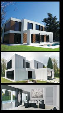 Ahorro hogar con las viviendas prefabricadas de diseño