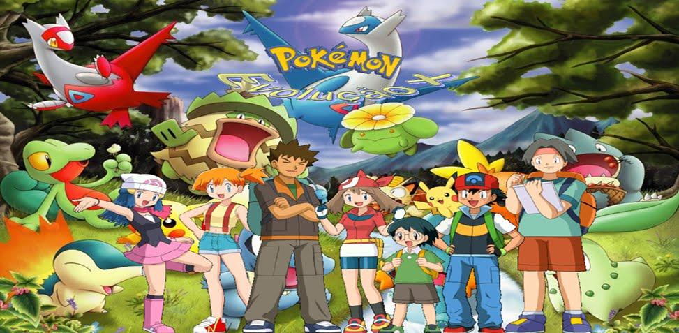 Pokemon Evolução x