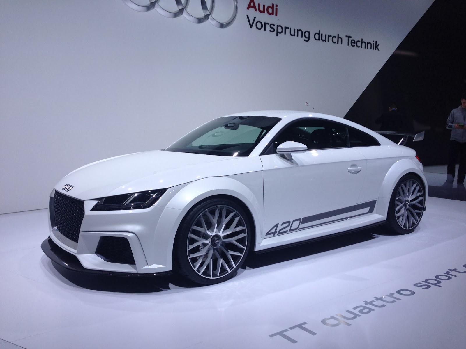 Audi TT 420 at Geneva Motor Show