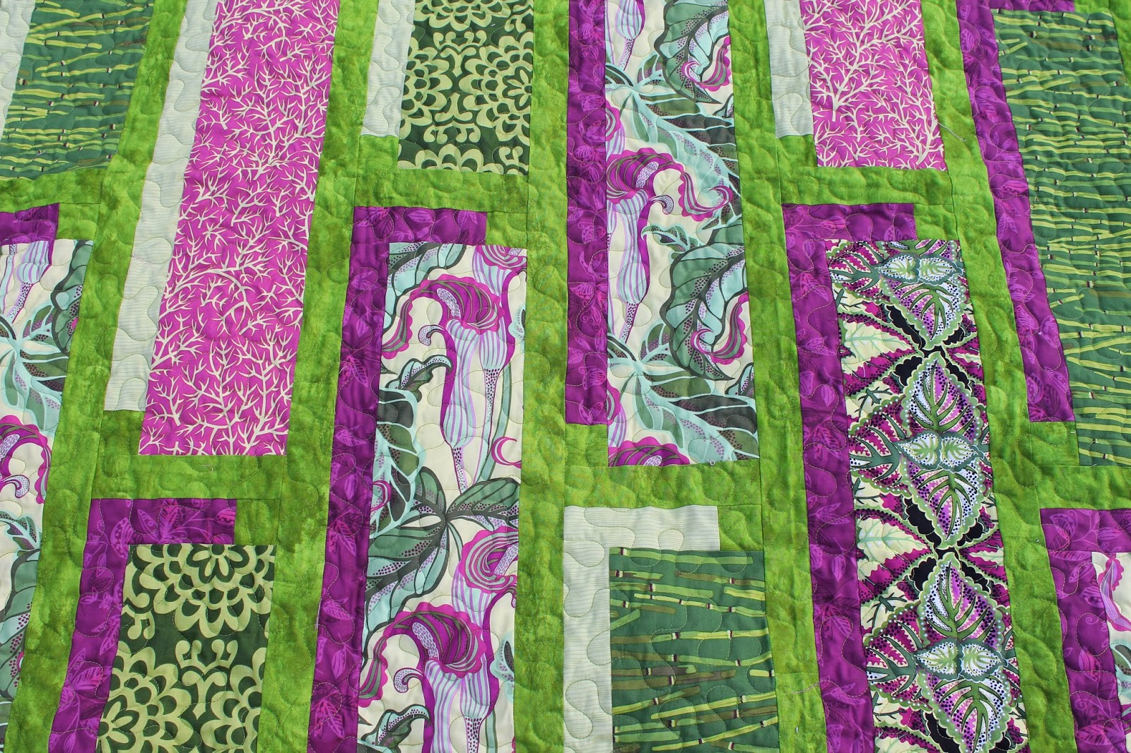 Quilting Is More Fun Than Housework Shadowbox Quilt
