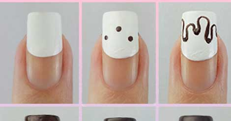 Easy christmas pudding nail art design step by step read christmas pudding nail art design step by step tutorial prinsesfo Gallery