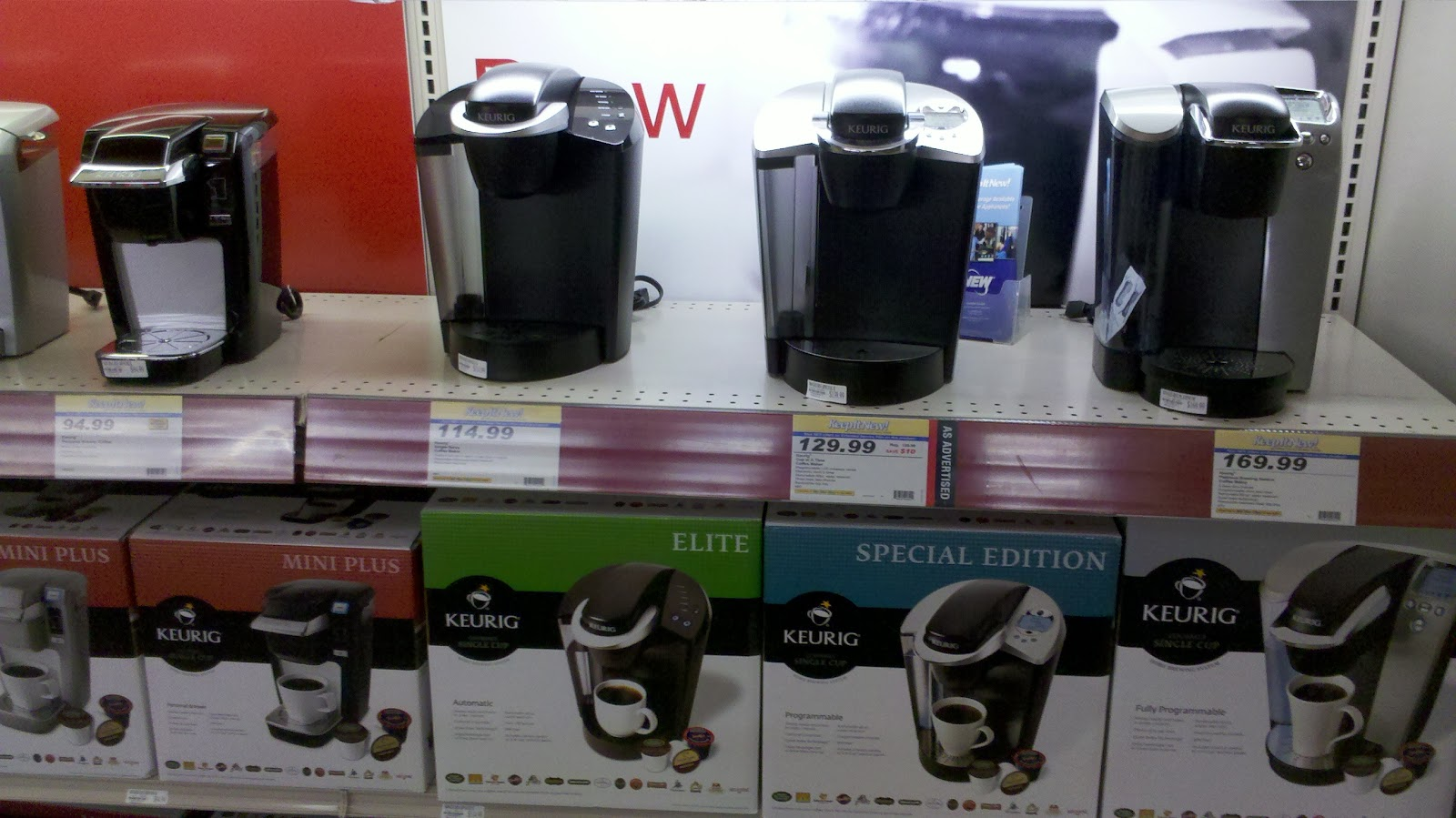 Keurig Coffee Maker Older Models : Blunoz Random Ramblings: Keurig Shopping