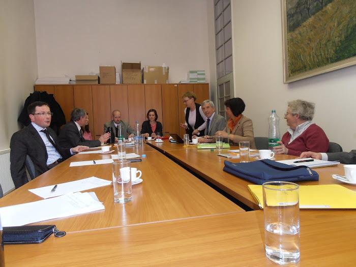 2nde phase avec la participation de quatre représentants de l'Association des anciens élèves