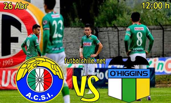 Audax Italiano vs O'Higgins - Campeonato Clausura - 12:00 h - 26/04/2015