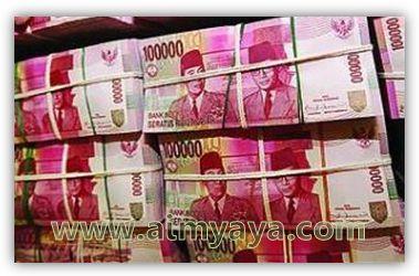 Gambar: ilustrasi tumpukan uang