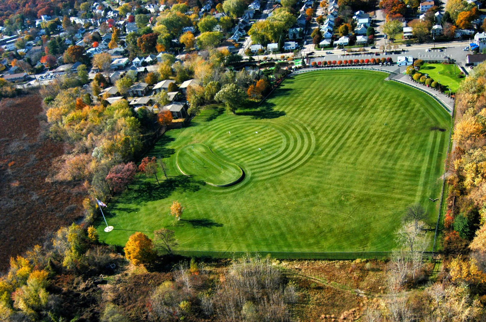 Fall Golfing Season, Dedham MA
