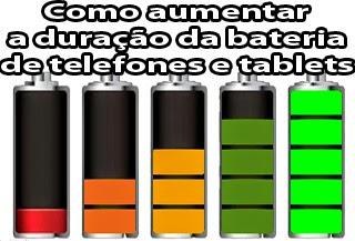 como economizar a bateria do celular e tablet