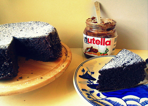 cookaroo nutella cake and nutella tales. Black Bedroom Furniture Sets. Home Design Ideas
