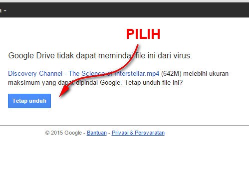 Cara Download File di Google Drive dengan IDM
