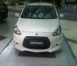 model mitsubishi mirage 2013