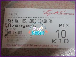 Filem Avenger dan Teater Upin Ipin