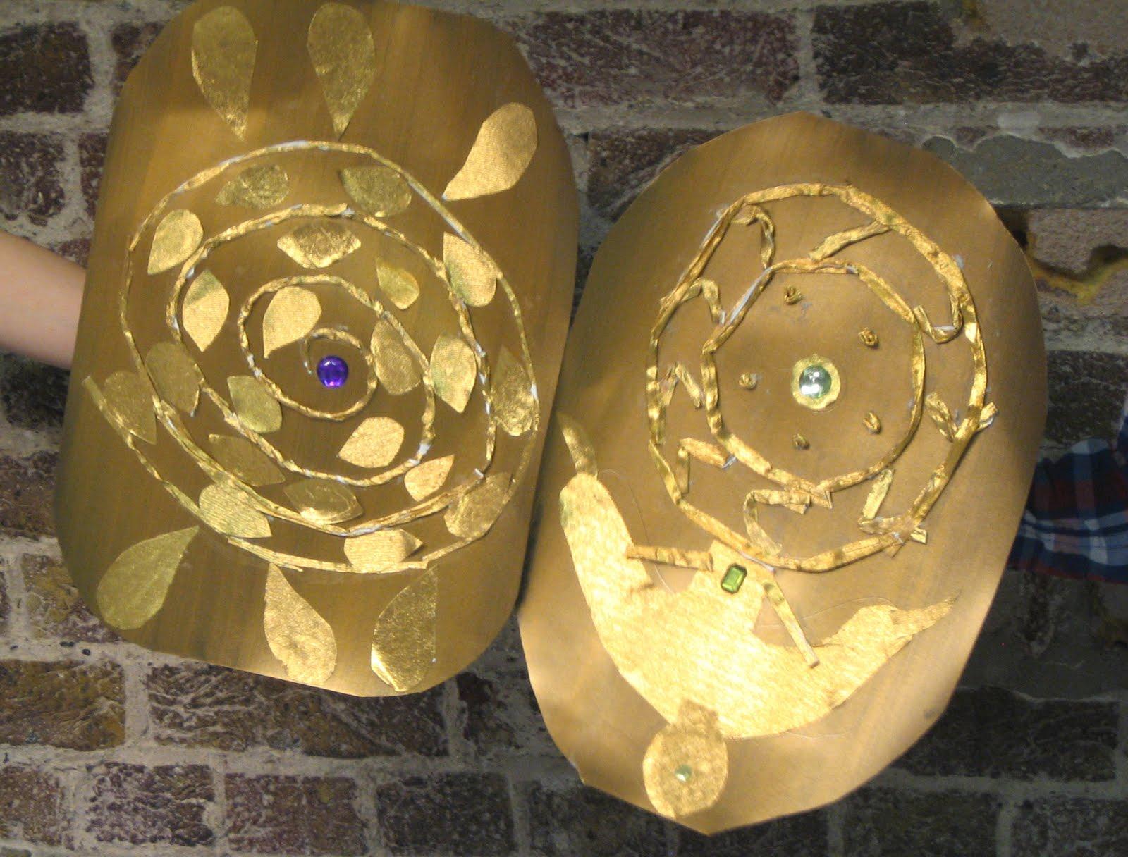 Drawmoresaunders Celtic Shield Making The British Museum