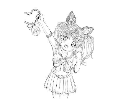 Sailor Chibi Moon Coloring Pages