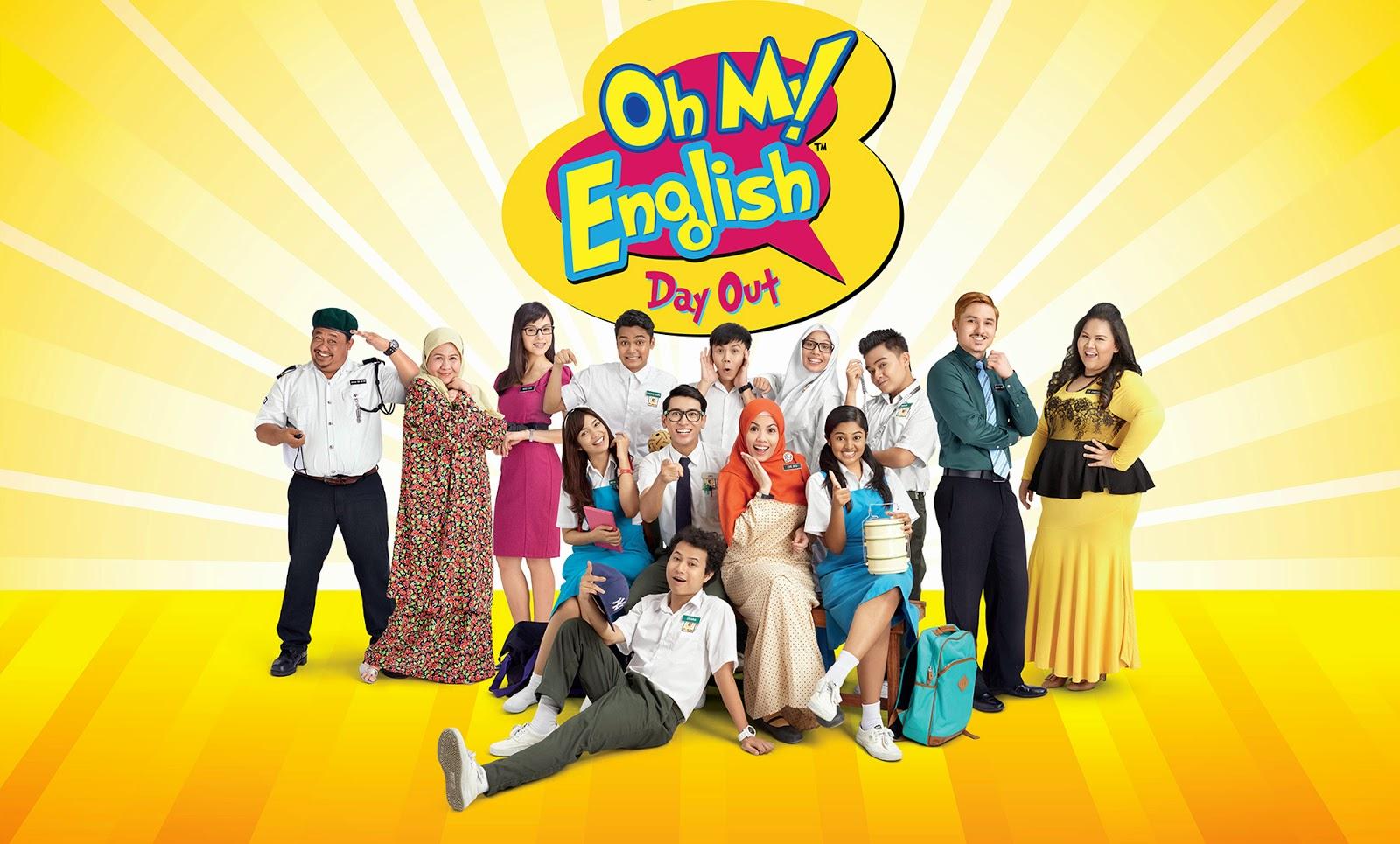 OH MY ENGLISH DAY OUT Boleh Beramah Mesra Dengan Mereka Secara LIVE